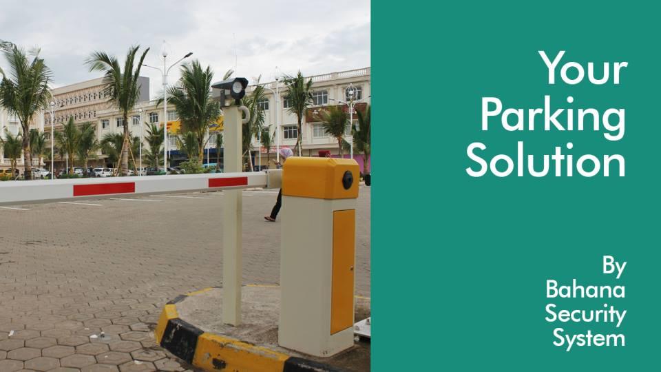 Palang parkir Otomatis BSS