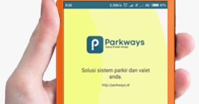 Aplikasi Parkir Android – Parkways.id