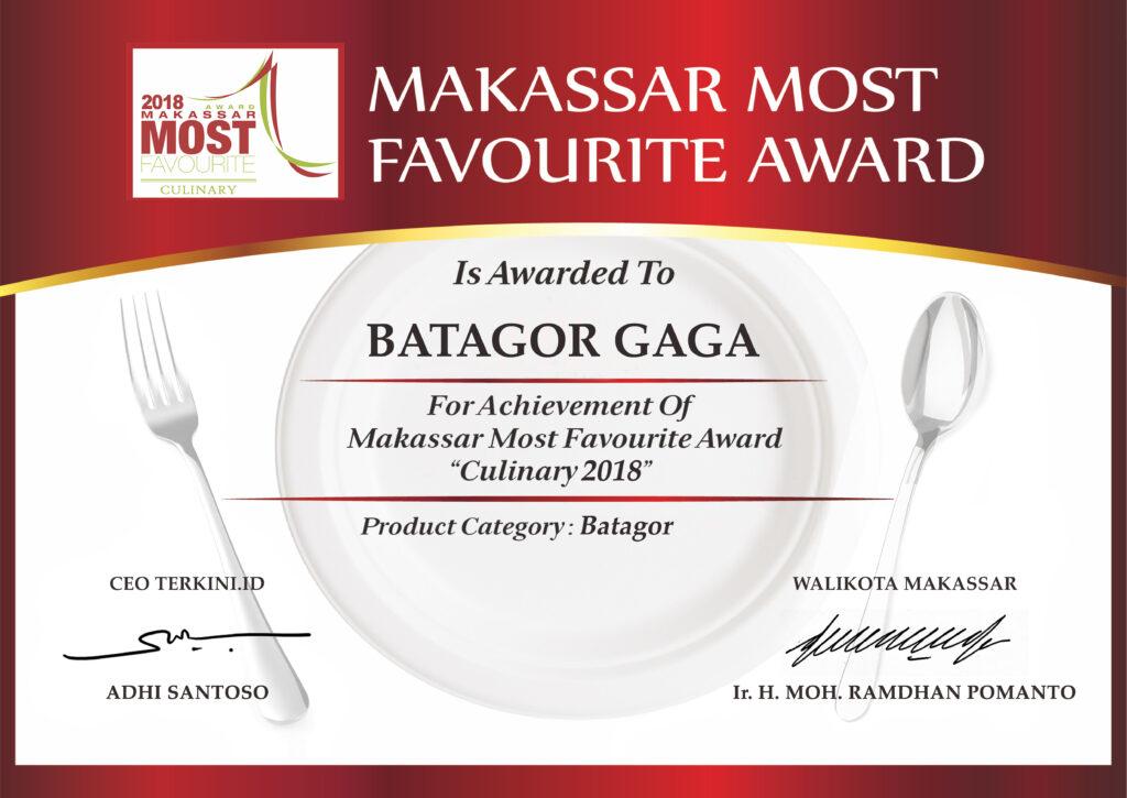 Penghargaan Batagor Gaga